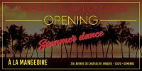OPENING DES SOIREES SUMMER DANCE